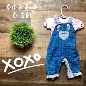 Cat & Jack Overall Set! 🎀🎀🎀